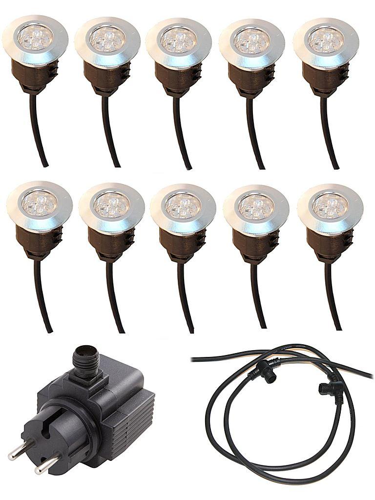Omtalade LightsOn Däckbelysning Spectrum Trädgårdsbelysning GQ-46