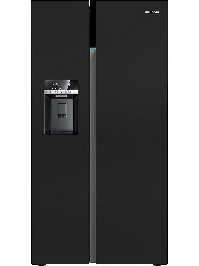 kylskåp side by side svart